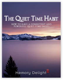 The Quiet Time Habit