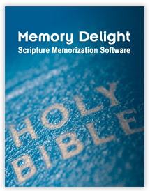 Scripture Memorization Software
