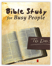 Bible Study For Busy People